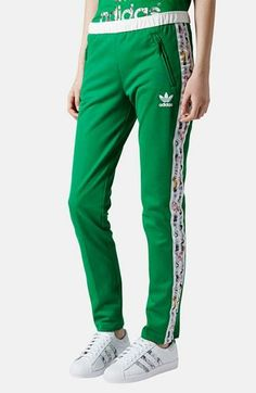 Limited edition Topshop x adidas originals tracksuit bottoms