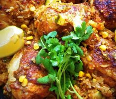Arroz Con Pollo With Mexican Chorizo HispanicKitchen.com