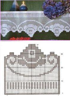 25 Patrones para Hacer Bonitas Cortinas a Crochet