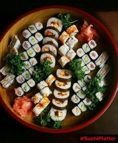 We have party platters for any occasion. Find En Menu & Choose an assortment of sushi & sashimi platters! Come and enjoy your party at En restaurant Best Japanese Restaurant, Sushi Platter, Sushi Party, Ladies Lunch, Sushi Restaurants, Party Platters, Sushi Recipes, Sashimi, Japanese Food