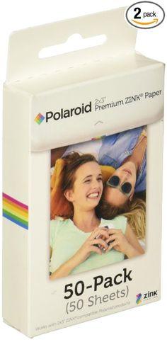 10 packs 100 Sheets Polaroid Pogo Zink Photo Printer Paper 2x3