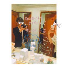 結婚式場のお手洗い・トイレの鏡にメッセージを書くサプライズについて   marry[マリー]