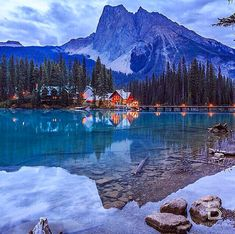 Emerald Lake Lodge, Yoho Nat'l Park, BC, Canada