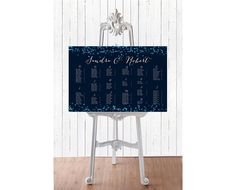 Wedding Seating Chart -  FREE RUSH SERVICE 12 hours - Bokeh Sparkly Stars  Wedding Seating Chart, Reception Template HBC53 by HappyBlueCat on Etsy https://www.etsy.com/listing/197488368/wedding-seating-chart-free-rush-service