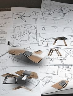 BIURO - LAPTOP DESK CINNA CONTEST 2012 by Marc TRAN, via Behance
