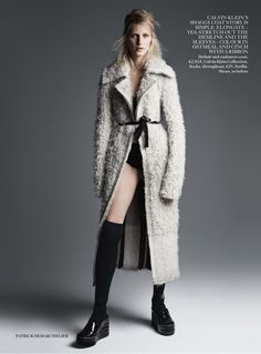 visual optimism; fashion editorials, shows, campaigns & more!: the new now: julia nobis by patrick demarchelier for uk vogue august 2014