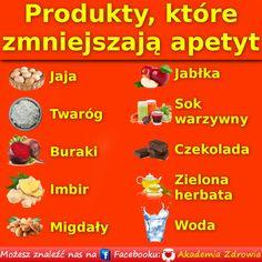 Produkty, które zmniejszają apetyt - Zdrowe poradniki