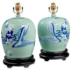 Image result for oriental ovoid lamps