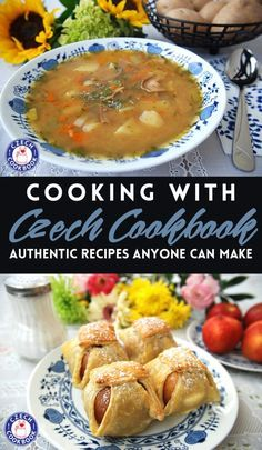 Cooking Czech cuisine at home - - Recreate the flavors of Czech cuisine right in your home with these authentic recipes anyone can make. Slovak Recipes, Czech Recipes, Goulash Recipes, Soup Recipes, Czech Desserts, Sweet And Sour Cabbage, Prague Food, Sunday Recipes, Home