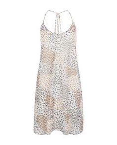 Cream Ditsy Floral Patchwork Print Slip Dress  | New Look
