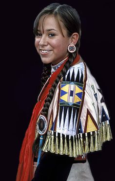 2012-2013 Miss Indian World Jessa Rae Growing Thunder from the Fort Peck Assiniboine/ Sioux tribes of Poplar, Montana.