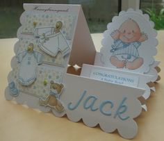 Welcome to my blog: Step Card for Jack