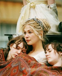 Pride and Prejudice- I wish I had sisters, even if they were coocoo like Kitty and Lydia.