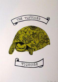 'The tattooed Tortoise' - Hannah Prebble