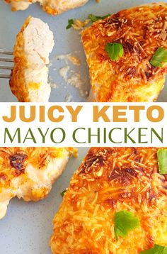 This easy mayo parmesan chicken keto recipe is to die for!! You need to try this chicken mayo parmesan keto recipe, it's so tender and juicy and will just melt in your mouth! Keto Chicken Thigh Recipes, Crockpot Chicken Thighs, Chicken Fajita Recipe, Keto Crockpot Recipes, Healthy Chicken Recipes, Low Carb Recipes, Lunch Recipes, Dinner Recipes, Chicken Mayo Parmesan