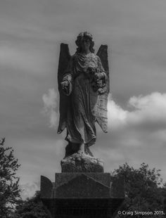 Hyde Cemetery, Tameside, Greater Manchester, Lancashire, England. 5th July 2015.