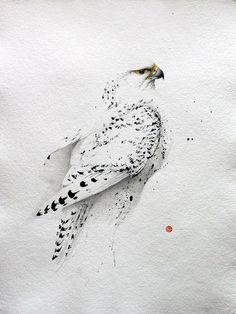 Акварельные птицы. - Ярмарка Мастеров - ручная работа, handmade