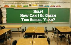 Want to go green this school year? you could switch the back-to-school shopping season into a great lesson in resourcefulness, frugality … and even minimalism. Turn this school year into a great time to learn that less is more when it comes to stuff. Starting Kindergarten, Green School, Back To School Shopping, Go Green, Natural Living, Homemaking, Frugal, I Can, Things To Come