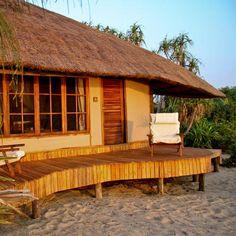 Saadani Safari Lodge, Saadani National Park, book at discounted prices! Sky Full Of Stars, Tanzania, Africa, Warm Weather, National Parks, Cabin, House Styles, Beach, Paradise