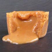 chez so Fondant with a flowing coronary heart of caramel fondant caramel