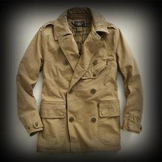 ダブルアールエル メンズ コート RRL Cotton Twill Trench コート-アバクロ 通販 ショップ-【I.T.SHOP】 #ITShop