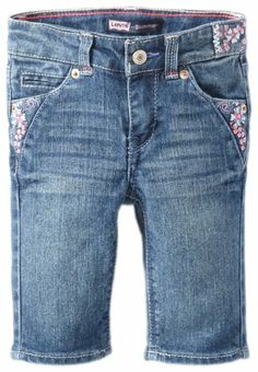 Amazon.com: Levi's Girls 2-6x Forever Floral Bermuda: Clothing