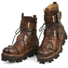 On Sale bota Masculina Men's Cowhide Genuine Leather Work Boots Military Combat Boots Gothic Skull Punk Motorcycle Martin Boots Military Combat Boots, Leather Motorcycle Boots, Leather Boots, Cow Leather, Leather Buckle, Cowhide Leather, Real Leather, Motorcycle Fashion, Military Army