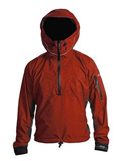 KOKATAT Men's GORE-TEX Paclite Pullover Jacket Chili Red M >>> Click on the image for additional details.