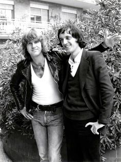 Keith Emerson and Dario Argento