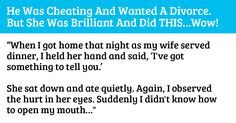 One Woman Teaches Her Husband A Valuable Lesson After He Cheats On Her via LittleThings.com