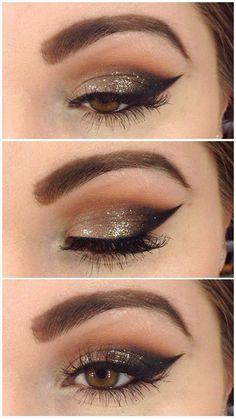 Image via We Heart It https://weheartit.com/entry/152985194 #eyes #makeup