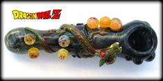 Dragon Ball Z Pipe Obtanium and Black Glass Pipe by ArtistixDNA