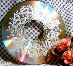 CD-Gravierte Untersetzer
