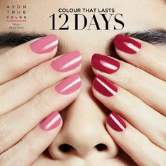 Forget the salon! Get professional results at home with a high-shine mani that resists dings, bangs and nicks with Pro+ Nail Enamel. Avon Nails, Avon True, Get Nails, True Colors, Vivid Colors, You Nailed It, Nail Colors, Bath And Body, Fragrance