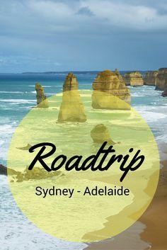 Teil 1 meines Roadtrips durch Australien führte von Sydney nach Adelaide