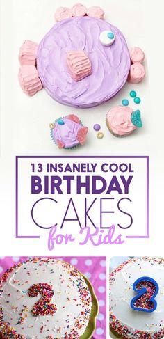 13 Totally Genius Birthday Cakes For Kids
