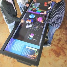 """100"""" Touch Table by Ideum"""