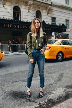 Michelle Madsen, NYFW 2016, Amo Denim Jeans