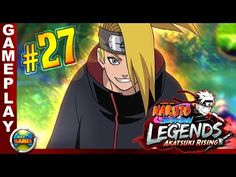 Naruto Shippuden Legends Akatsuki Rising #27 PSP Walkthrough