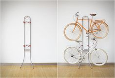 MICHELANGELO TWO BIKE GRAVITY STAND | Image