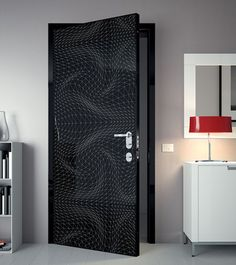 Modern door designs from Karim Rashid    Courtesy of www.homedit.com