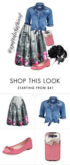 """""""Apostolic Fashions #1369"""" by apostolicfashions on Polyvore featuring Chicwish, Soul Cal, Kate Spade and Samsung"""
