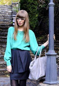 Talk about a bargain! Browns Skirt from BaronBaronne Paris  £9.90