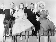 Bing Crosby, Grace Kelly, Frank Sinatra, and Celeste Holm, from High Society (1956)