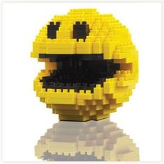 Pac-Man Pixels Briques #pacman #gadget #briques #geek