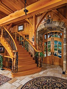 Why You Should Consider Buying a Log Cabin - Rustic Design Style At Home, Rustic Loft, Rustic Homes, Rustic Cabins, Western Homes, How To Build A Log Cabin, Cabin In The Woods, Log Home Decorating, Log Cabin Homes