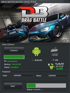 drag battle racing mod apk unlimited money and gold