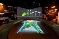 Land Design Studio creates Gardens by the Bay experience Interactive Museum, Interactive Walls, Interactive Display, Interactive Installation, Interactive Design, 360 Virtual Tour, Experience Center, 3d Landscape, Projection Mapping
