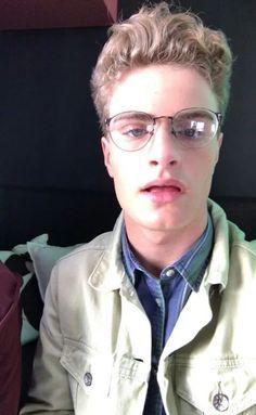 Brady jacked Chance's glasses