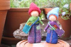 Wichtelkinder, Jahreszeitentisch von Jalda auf DaWanda.com